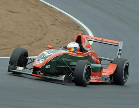 Formula 3 racing at Anglesey Circuit